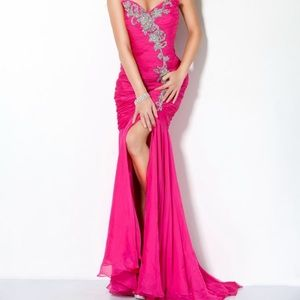 Jovani Mermaid Sweetheart Ball Gown Prom Dress